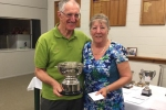 The Club Champs Margaret and Trevor Hodgson.